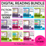 4th Grade Digital Reading Bundle: Fiction for Google Slides™