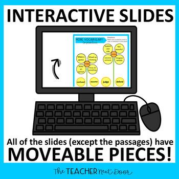 4th Grade Digital Reading Bundle: Nonfiction for Google Slides™ | Paperless