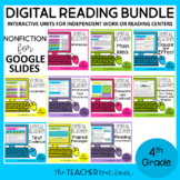 4th Grade Digital Reading Bundle: Nonfiction for Google Sl