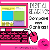 4th Grade Digital Reading: Compare and Contrast | Google Slides™
