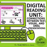 4th Grade Digital Reading: Connections Between Text, Visua