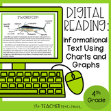 4th Grade Digital Reading: Informational Text Using Charts