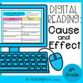 Cause and Effect Digital Reading for Google Slides™ Distan