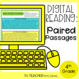 Paired Passages Nonfiction Digital Reading Google Slides™ Distance Learning