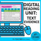 4th Grade Digital Reading Nonfiction: Text Evidence | Goog