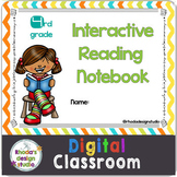 4th Grade Digital Reading Notebook Google Classroom No Pre