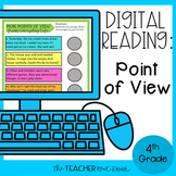 4th Grade Digital Reading: Point of View for Google Slides™