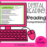 4th Grade Digital Reading: Reading Comprehension for Googl