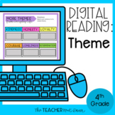 Theme Digital Reading for Google Slides™ Distance Learning