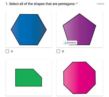 4th Grade Digital Self-Grading Math Warm-Ups Bundle
