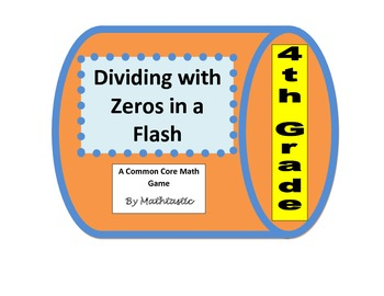 4th Grade Dividing with Zeros in a Flash Game for Common Core