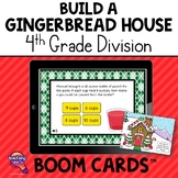 4th Grade Division Build A Gingerbread House BOOM Cards Re