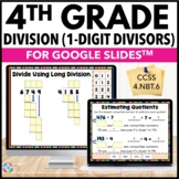 4th Grade Division: Partial Quotients, Long Division {4.NBT.6} Google Classroom