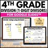 4th Grade Division: Partial Quotients, Long Division {4.NB