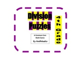 4th Grade Division Puzzle Games for Common Core
