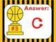 4th Grade Division Review Game:  Showdown and Shoot (TEKS 4.4E,F,G,H 4.5A)