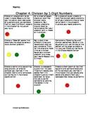 4th Grade Divison Choice Board