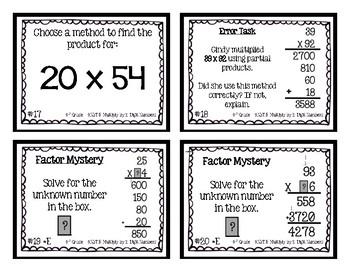 4th Grade | Double Digit Multiplication 4.NBT.5
