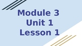 *EDITABLE* 4th Grade EL Module 3 Unit 1 (FIRST HALF ONLY)