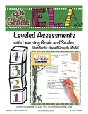 4th Grade ELA Assessment RL Reading Literature with Scales