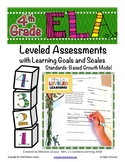 4th Grade ELA Assessment with Learning Goal 4.RL.1 and Scale