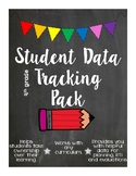 4th Grade ELA CCSS - Student Data Tracking Materials - Back to School Time