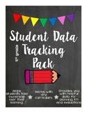 4th Grade ELA CCSS - Student Data Tracking Materials - Bac