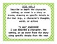 """4th Grade ELA CCSS with """"I Can"""" Statements"""