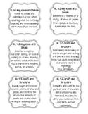 4th Grade ELA Common Core Standard Labels