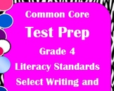 4th Grade ELA Common Core Test Prep: Literary, Writing, and Language Standards