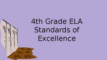 4th Grade ELA GSE