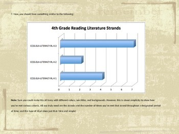 4th Grade ELA Learning Strands Organizer: Keep Data on Learning Strands