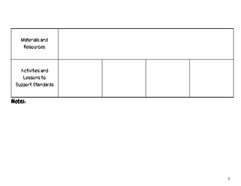 4th Grade ELA Missouri Learning Standards Checklist of Skills