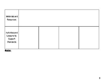 5th Grade ELA Missouri Learning Standards Checklist of Skills