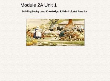 4th Grade ELA Module 2A Unit 1 Lessons - Powerpoint