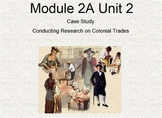 4th Grade ELA Module 2A Unit 2:  Conducting Research on Colonial Trades