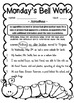 4th Grade ELA Morning Work/Bell Work: WHOLE month! MAY Themed Worksheets!