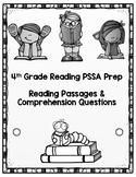 4th Grade ELA PSSA Prep - Reading Comprehension Packet