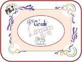 4th Grade ELA Packet