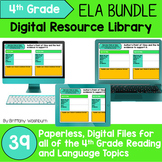 4th Grade ELA Standards Digital Resource Library BUNDLE