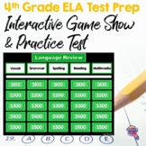 4th Grade ELA Test Prep Game Show & Practice Review Test FSA AIR