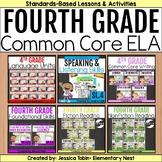 4th Grade ELA Year-Long Bundle Curriculum-  ELA Common Cor