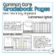 4th Grade ELA and Math Common Core **EDITABLE** Gradebook Pages **BUNDLE**
