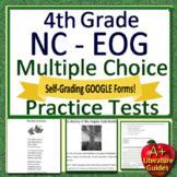 NC EOG Test Prep 4th Grade NC Reading EOG Practice Tests North Carolina