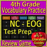 4th Grade EOG Test Prep NC READY Vocabulary and Mythology Allusions Review Game