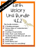 4th Grade Earth History Bundle