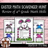 4th Grade Easter Math Scavenger Hunt