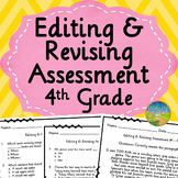 4th Grade Editing and Revising Assessment