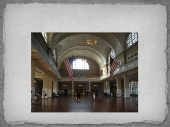 4th Grade Ellis Island Presentation