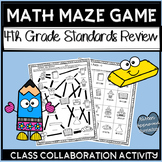 5th Grade Back To School Math Review Games 4th Grade